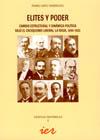 Elites y Poder. Cambio Estructural y Dinámica Política Bajo el Caciquismo Liberal. La Rioja