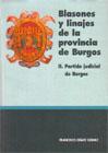 Blasones y Linajes de la Provincia de Burgos. II. Partido Judicial de Burgos