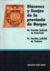 Blasones y Linajes de la Provincia de Burgos. III y IV. Partidos de Belorado y Sedano