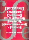 Diccionario de apellidos españoles, hispanoamericanos y filipinos
